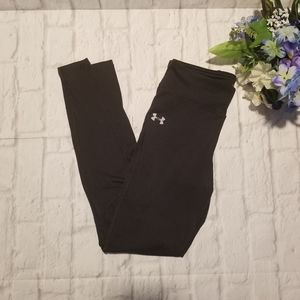 Under Armour Pant S Black Cropped Skinny Workout
